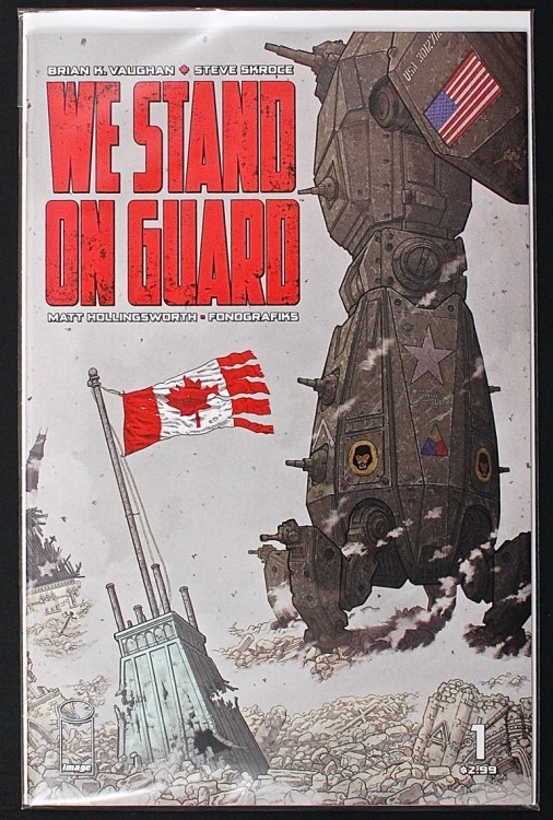 We Stand on Guard comic