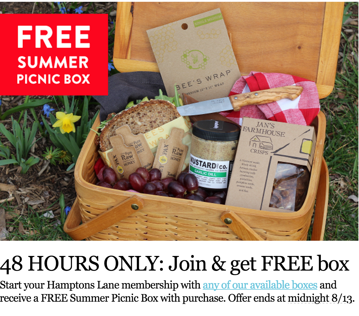Hamptons Lane free box