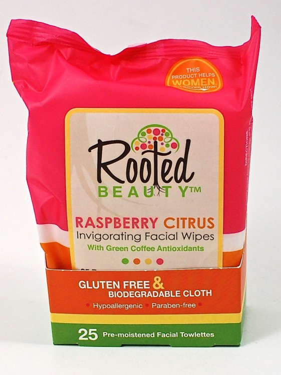 Rooted Beauty wipes