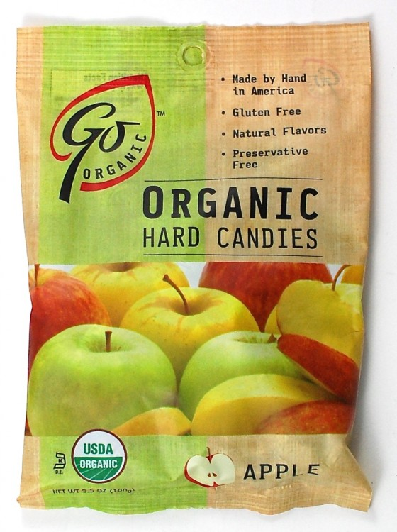 Go Organic hard candy