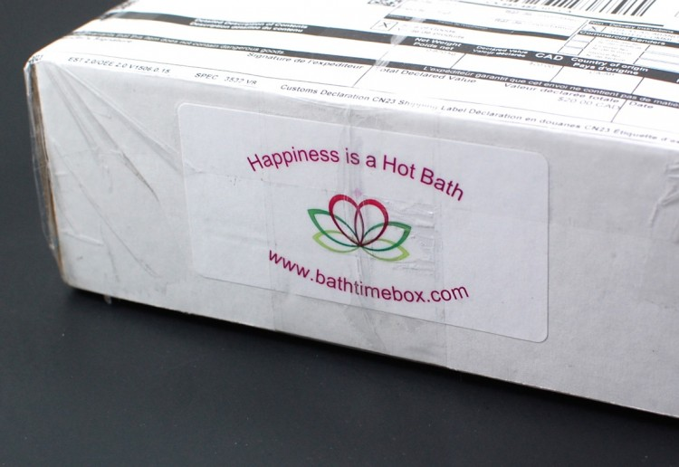 Bath Time Box