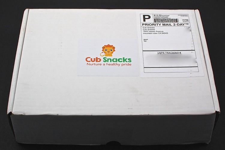 Cub Snacks Box