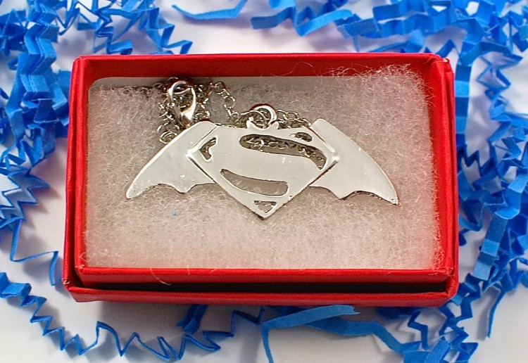 Batman vs Superman necklace