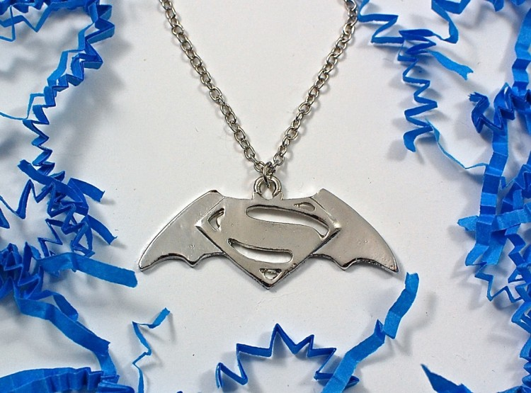 Batman vs. Superman necklace