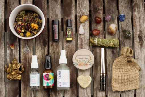 Natural beauty and aromatherapy