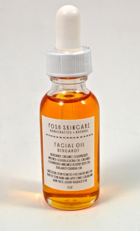 bergamot facial oil