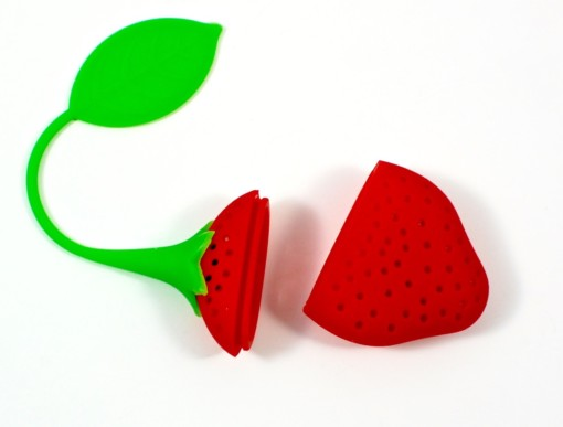 strawberry tea strainer