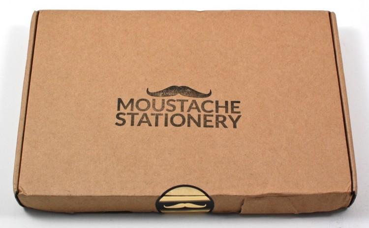 Moustache Stationery box