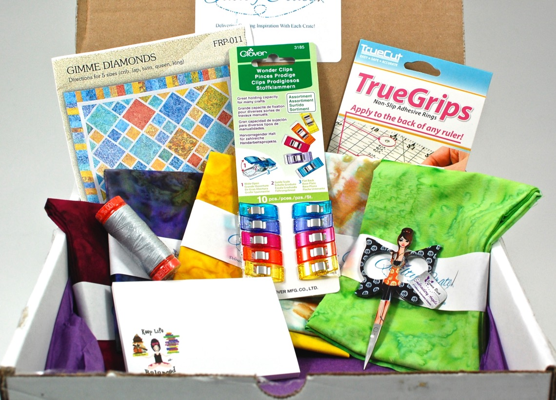 September 2015 Quilty Crate