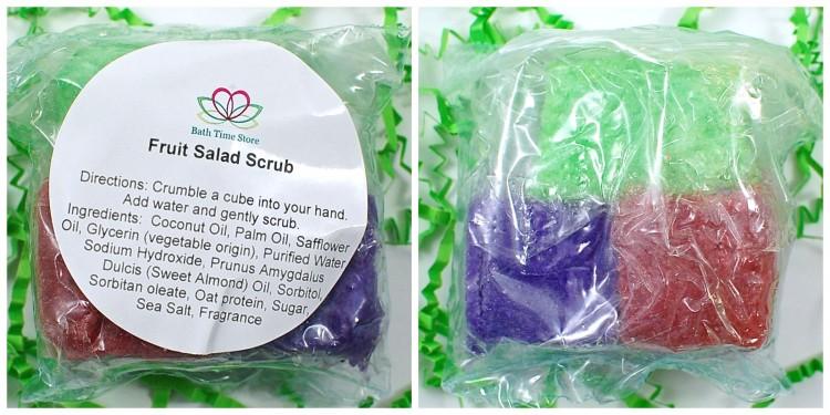 Fruit salad solid scrubs