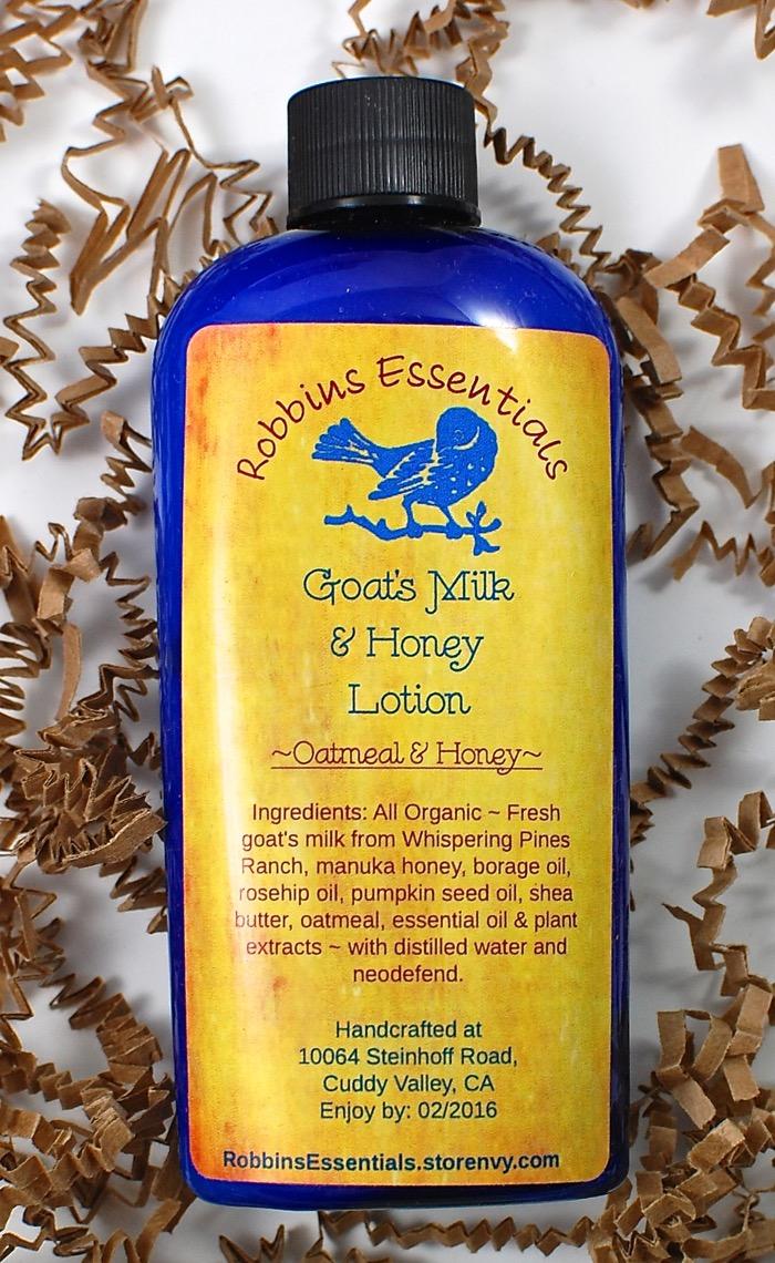 Robbins Essentials lotion