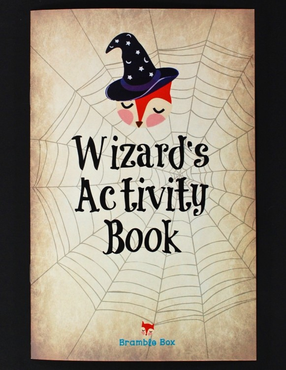 Wizard's activity book