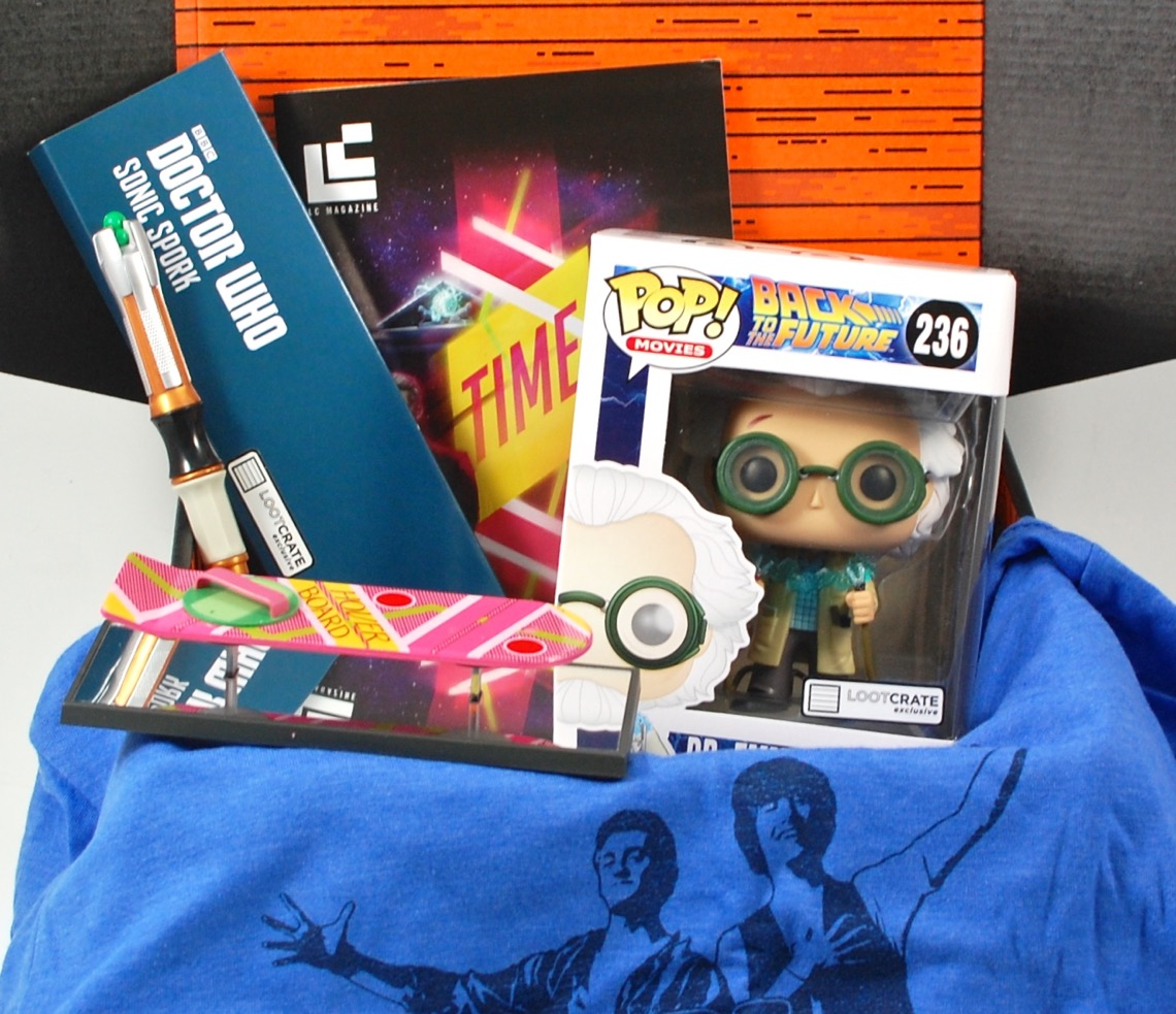 October 2015 Loot Crate