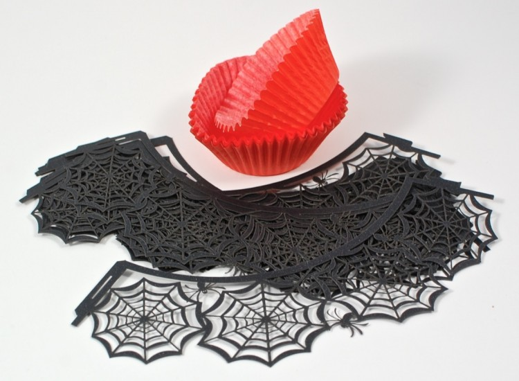 Halloween cupcake liners