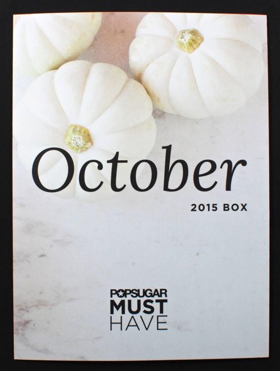 October 2015 Popsugar