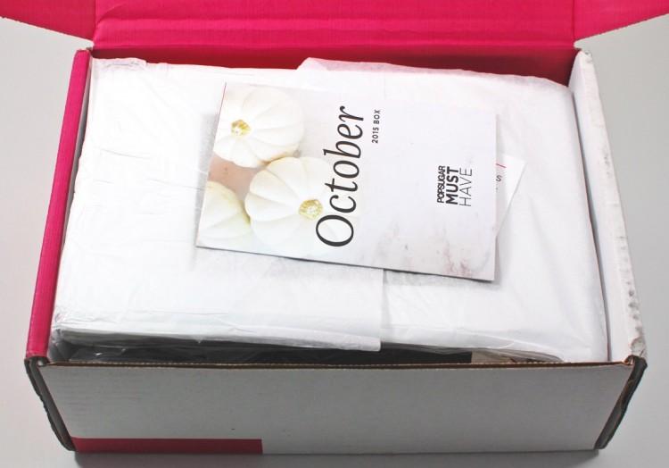 October Popsugar Must Have box