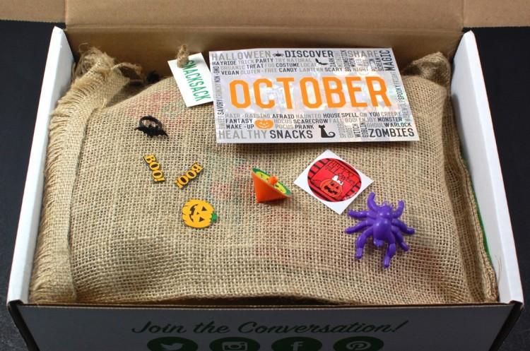 Snack Sack October