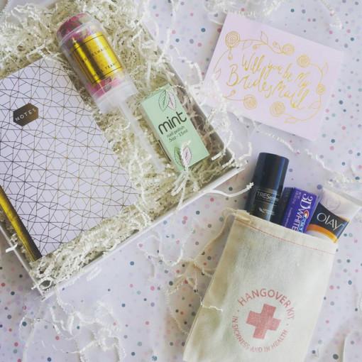 Bridesmaid ask box starter kit