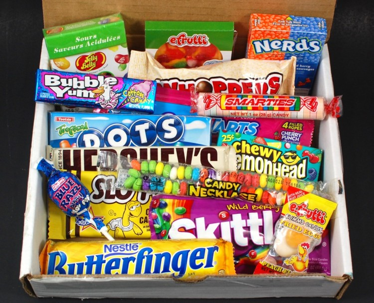 Candy Box October 2015 Subscription Box Review