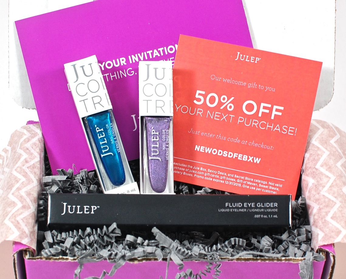 Julep winter welcome box