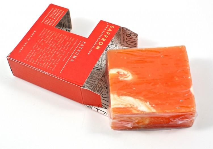 satsuma citrus soap