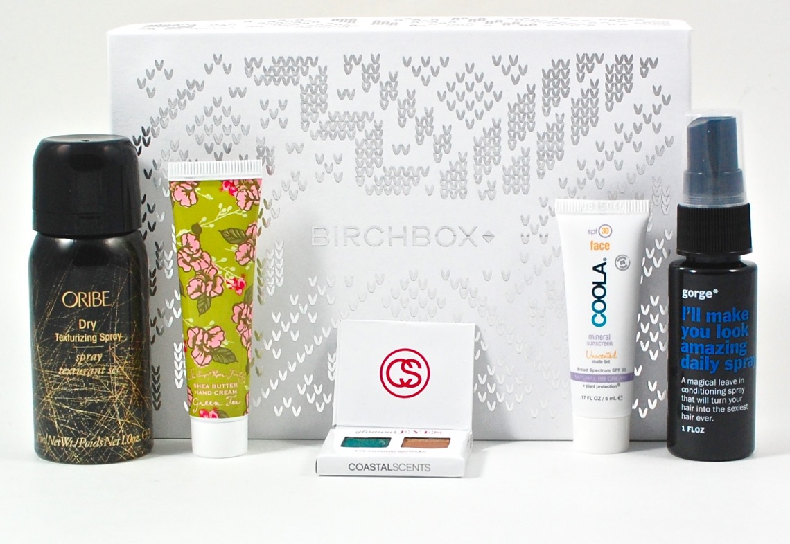 December 2015 Birchbox review