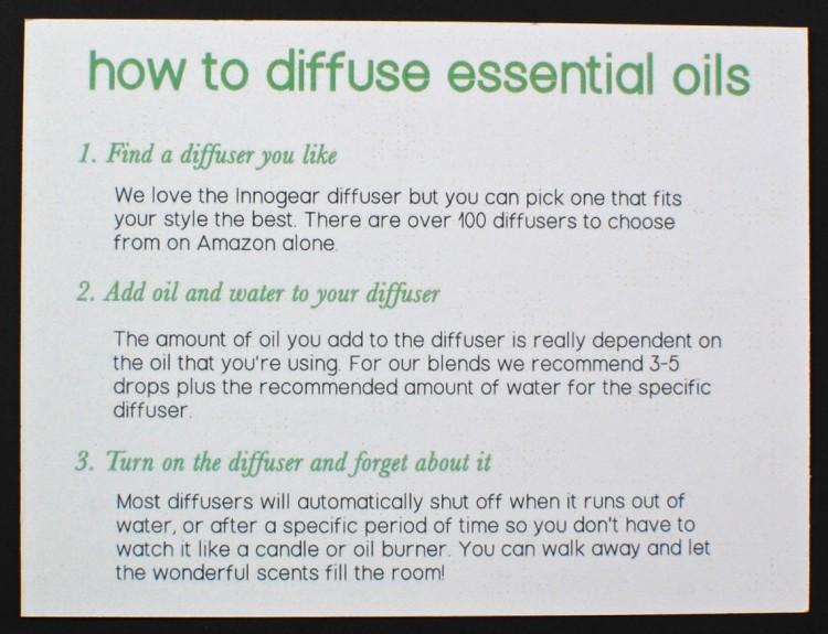essential oils box