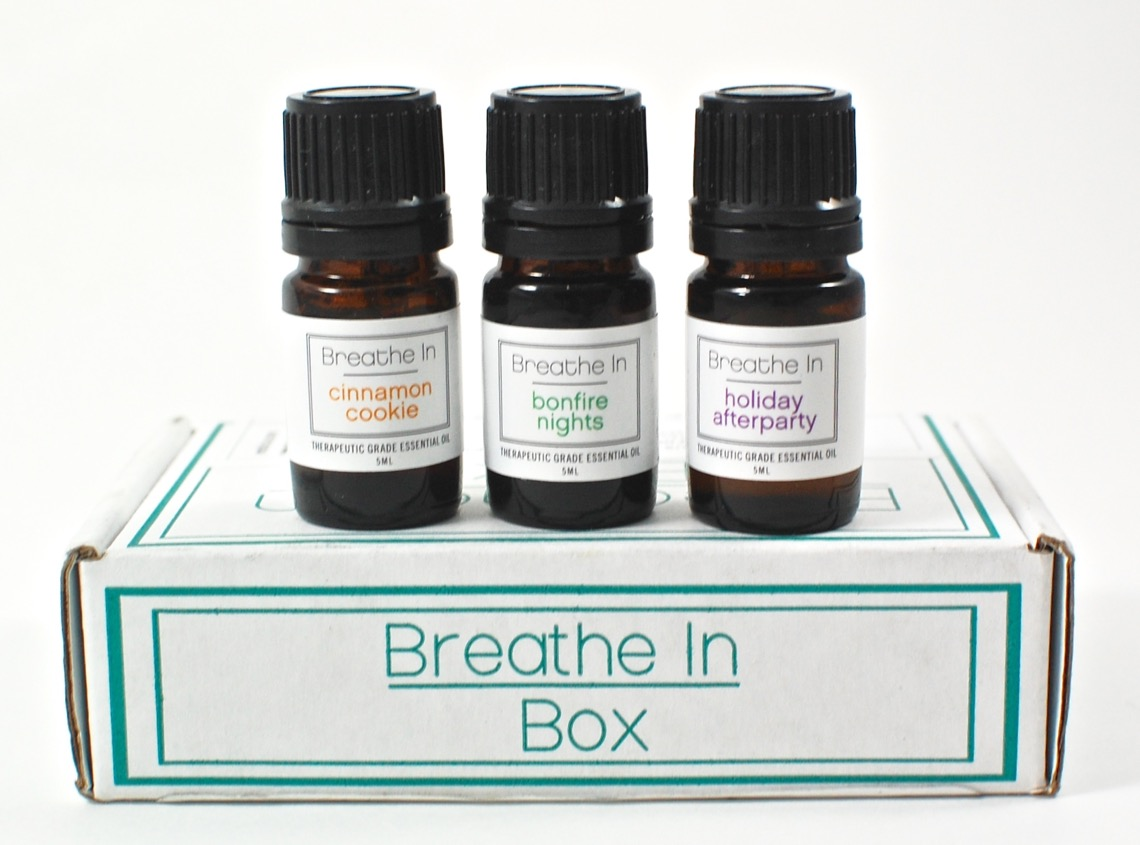 November 2015 Breathe in Box review