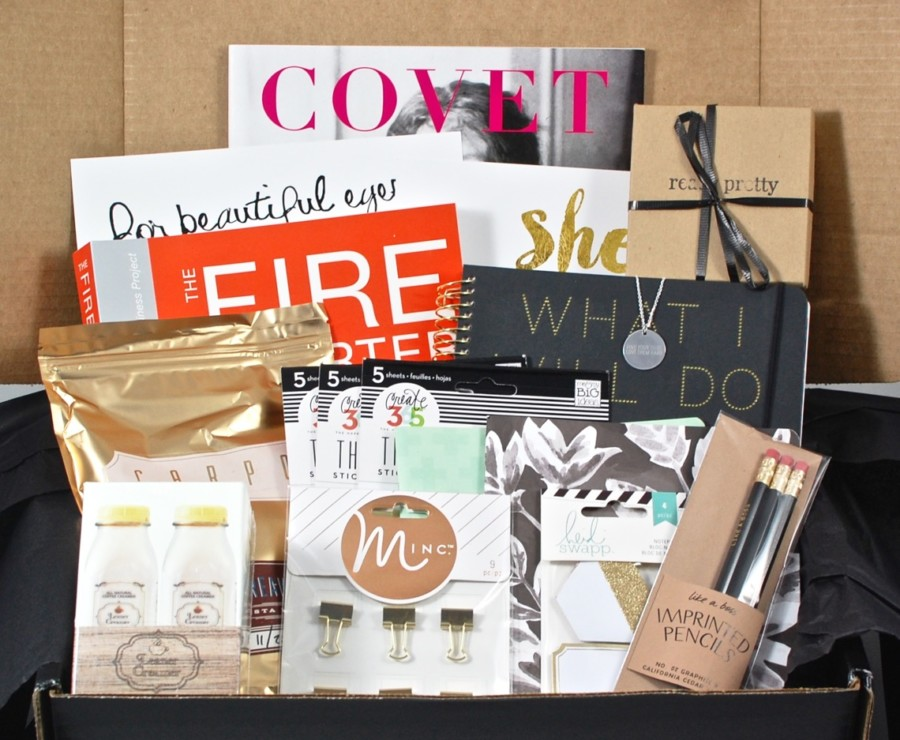 January 2016 Covet Crate review