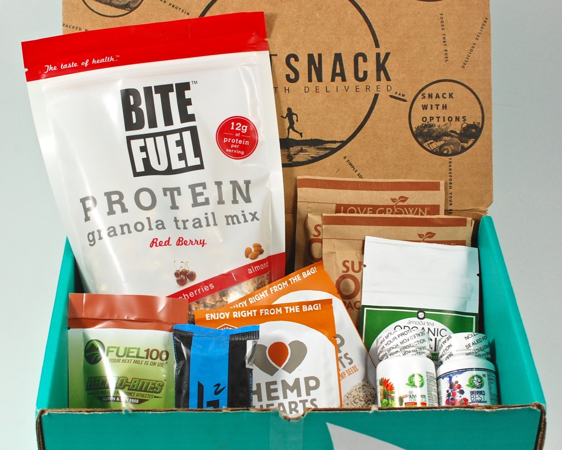 November 2015 Fit Snack review