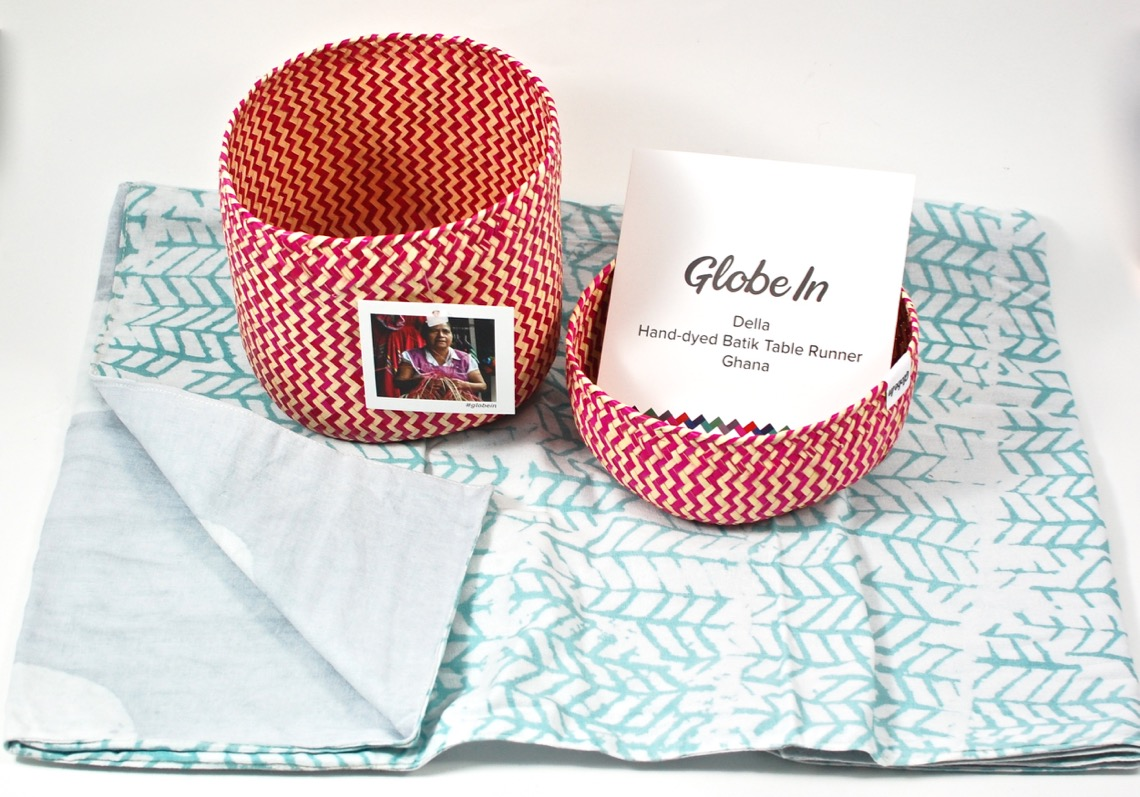 December GlobeIn Benefit Basket review