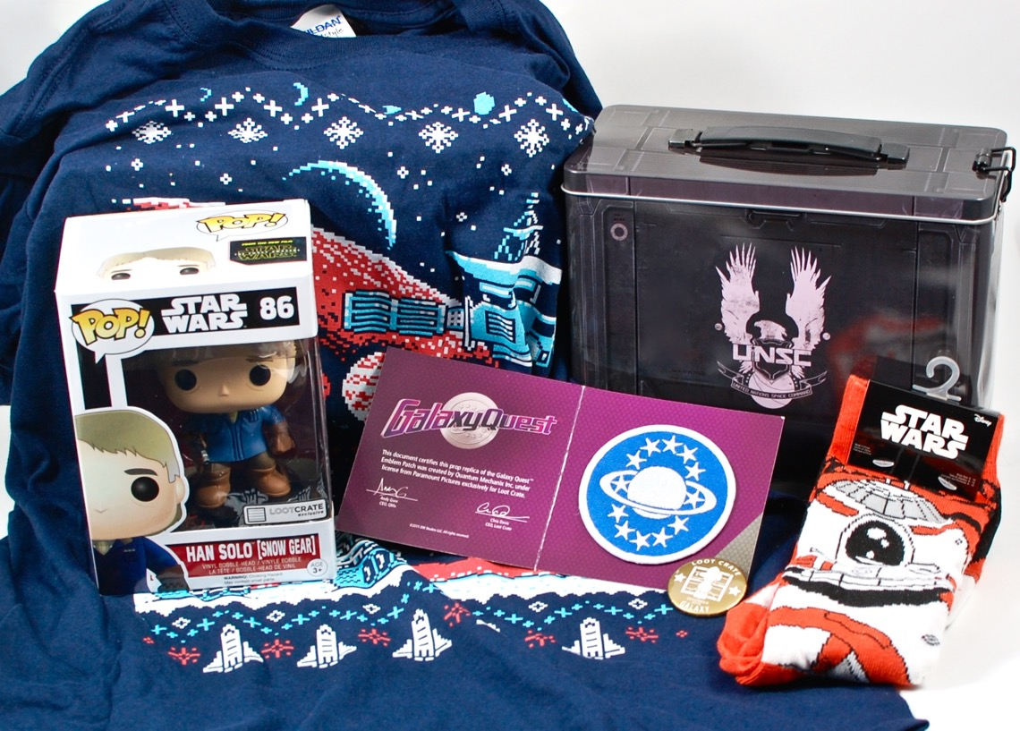 December 2015 Loot Crate review