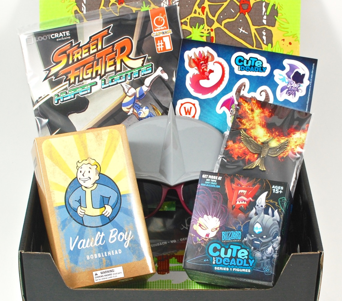 November 2015 Loot Crate review