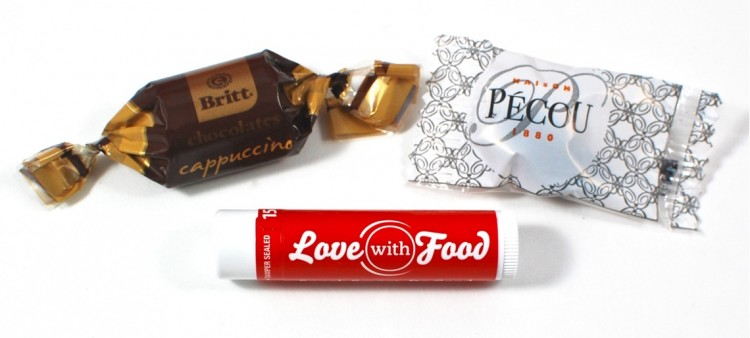 love with food lip balm