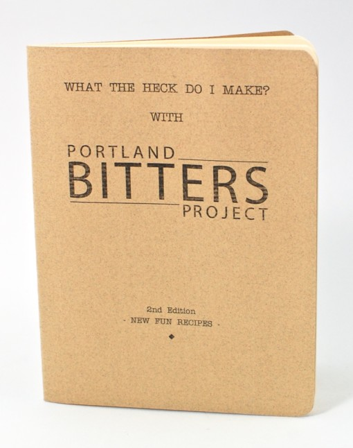 Bitters recipe book