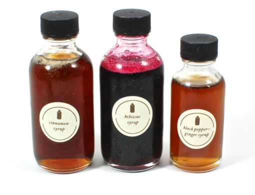 cocktail syrups