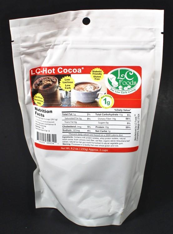 sugarless hot chocolate