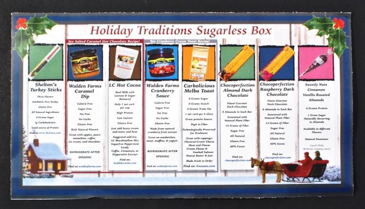 December 2015 Sugarless Sensations