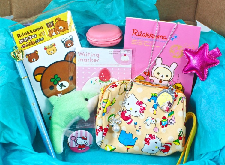 The CuteBox January 2016 Review & Coupon Code