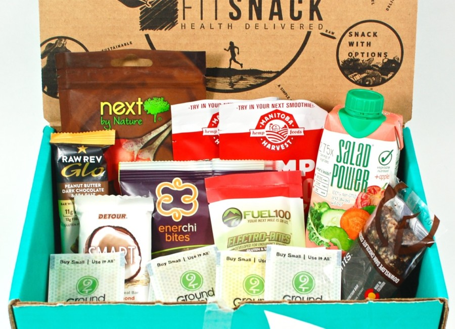 December 2015 Fit Snack review