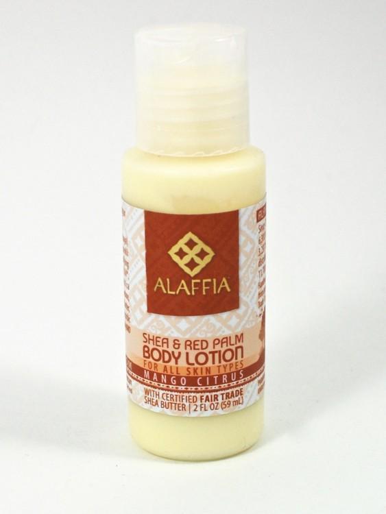 Alaffia lotion