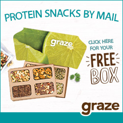 Protein snacks by mail - Click here for your free Graze box