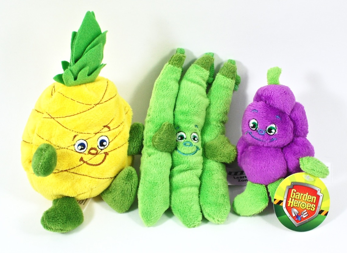 plush veggies