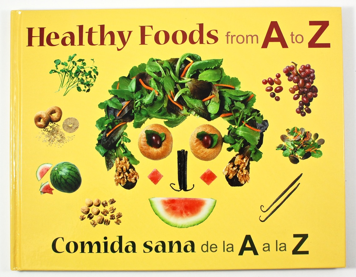 Bilingual food book