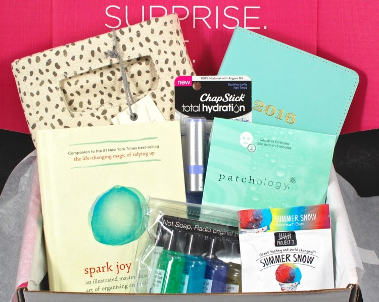 January 2016 POPSUGAR Must Have review