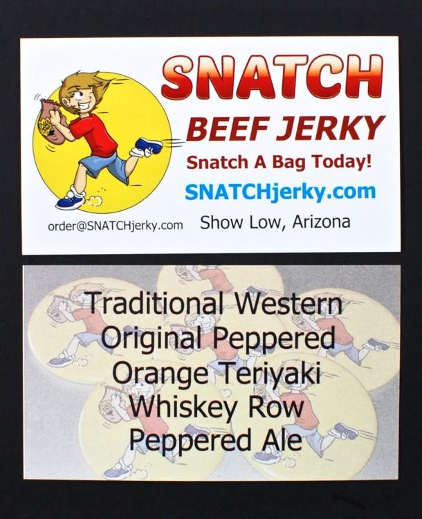 SNATCH Beef Jerky subscription