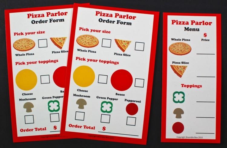 Bramble Box menus