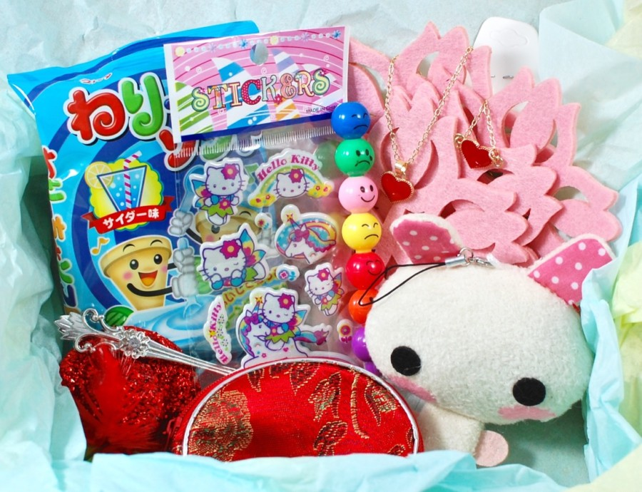 February 2016 The Cute Box review