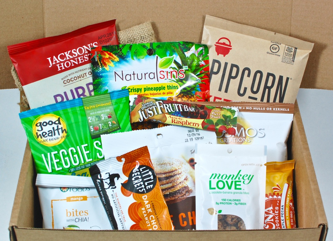 February 2016 SnackSack review