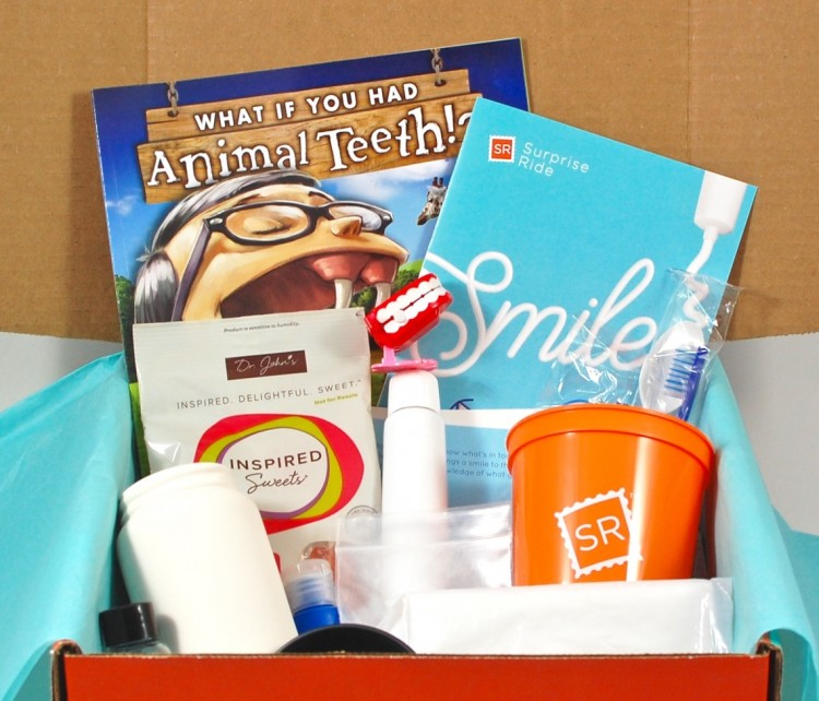 """Surprise Ride """"Smile"""" Box Review, Coupon Code, & Giveaway"""